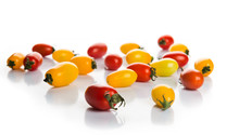 Red And Yellow Pepper Cherry Tomatoes