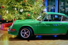 Green Vintage Classic Car Berlin