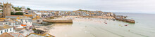 Landscape Panorama Of St Ives ...