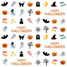 ハロウィンのパターン