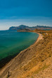 Crimea coast summer vacation sea blue landscape