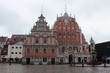 The Big Guild houses in riga, latvia