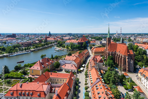 Breslau – Blick vom Breslauer Dom