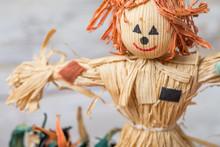 Scarecrow Table Decoration