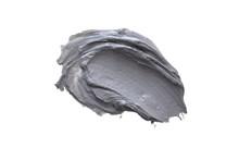 Smear Clay Mask On A White Bac...