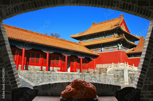 Fotografie, Obraz  The historical Forbidden City in Beijing