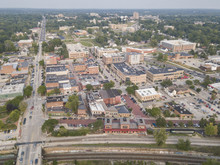 Kent Ohio, Aerial View Of Kent...