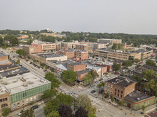 Kent Ohio, Aerial View Of Kent & Kent State University