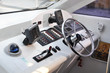 control yachts of the pleasure yacht on the Black Sea
