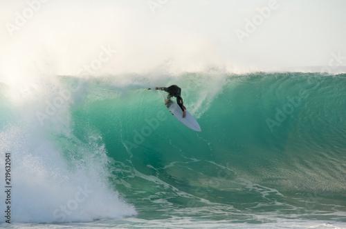 Fotomural  Jakes Point Surfing - Kalbarri - Australia