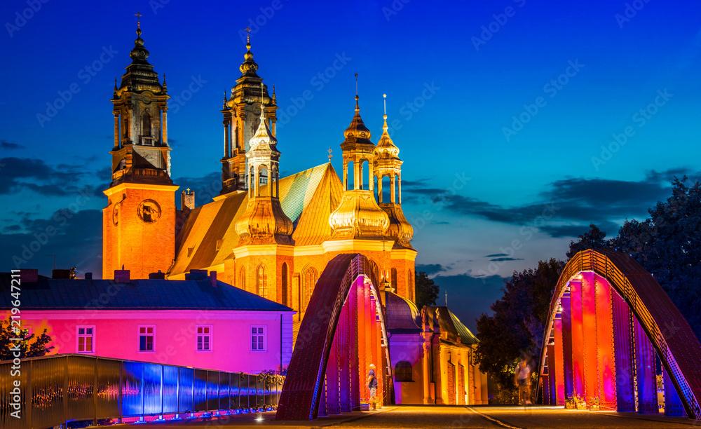 Fototapety, obrazy: Katedra w Poznaniu, Polska