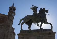 Equestrian Statue Of The Conqu...