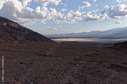 Tuinposter Grijze traf. Death Valley