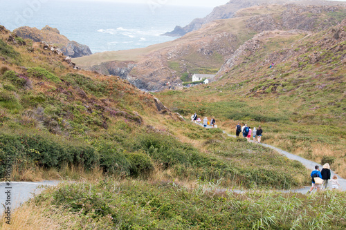 Foto Foodpath to Kynance Cove (Porth Keynans)The Lizard Peninsula West Cornwall South