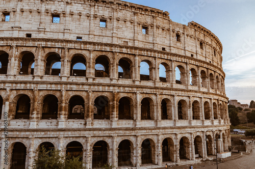 Canvas-taulu Colosseum in Rome, Italy