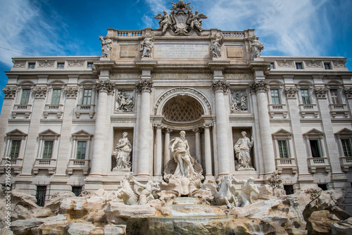 Photo Ancient Roman Fountain
