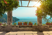 Pergola On The Terrace. Medite...