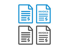 Invoice Icon. Payment And Bill...