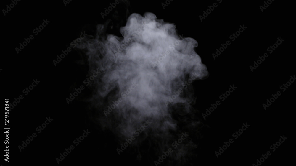 Fototapety, obrazy: Realistic dry smoke clouds fog overlay perfect for compositing into your shots. Simply drop it in and change its blending mode to screen or add.