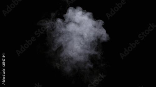 Realistic dry smoke clouds fog overlay perfect for compositing into your shots Tablou Canvas