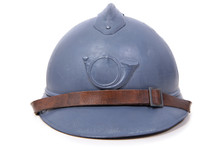 French Military Helmet Of The ...