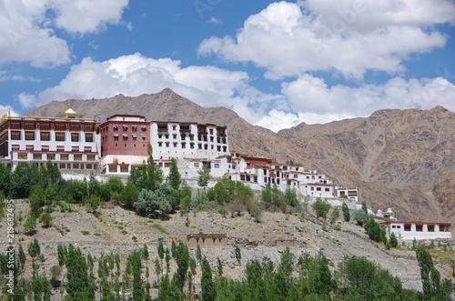 Fotografiet The Phiang monastery in Ladakh, India