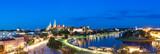 Fototapeta Miasto - Panorama Krakowa