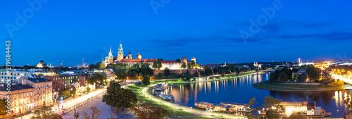 Panorama Krakowa - fototapety na wymiar
