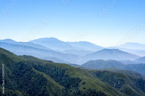 Fototapeta Mountains near Julian, California obraz