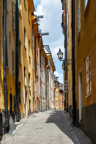 Keuken foto achterwand Stockholm The Swedish capital Stockholm..