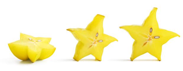 Plasterki owoców ararambola (rozgwiazdy)