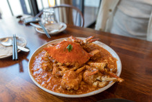 Serving Of Chili Crab