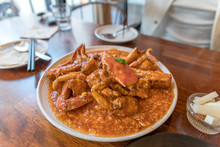 Serving Of Chili Crab