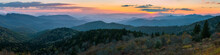 Blue Ridge Mountains Scenic Sunset