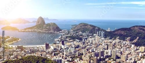 Rio de Janeiro view of the Rio de Janeiro