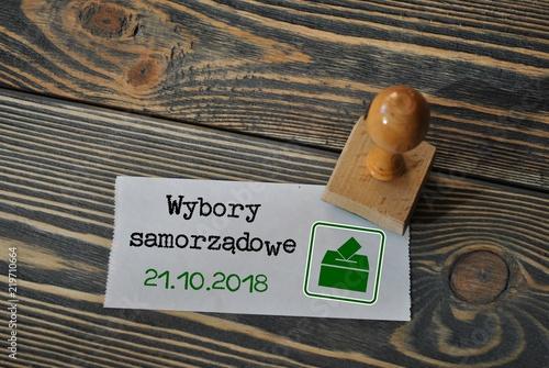 Fényképezés  Wybory samorządowe - 21 października 2018