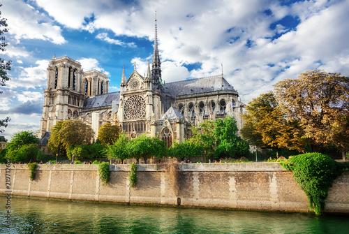 Carta da parati Notre Dame de Paris