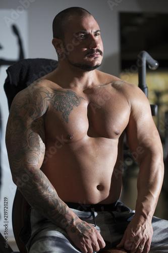 Fotografía  The man who bodybuilding