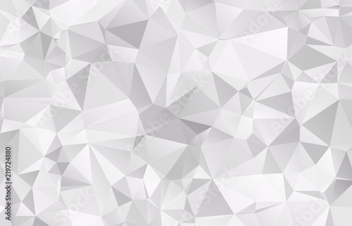 Foto Abstract Light gray mosaic background