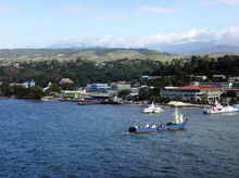 Views Of Honiara From A Cruise...