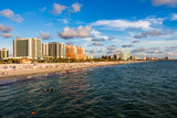 Clearwater Beach Skyline at Sunset