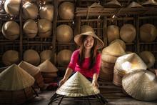 Asian Traveler Female Craftsma...