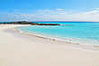 Idyllic beach with crystal clear water located in Cayo largo del Sur, Cuba.