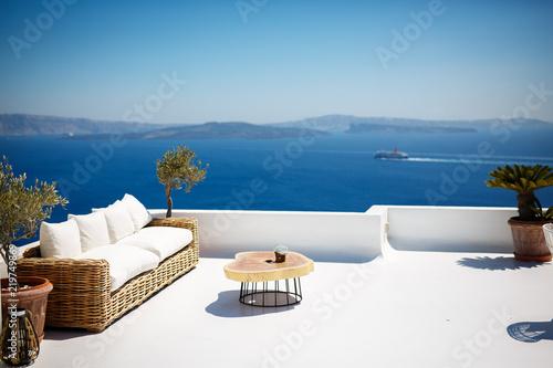 Foto auf Gartenposter Santorini Beautiful santorini landscape