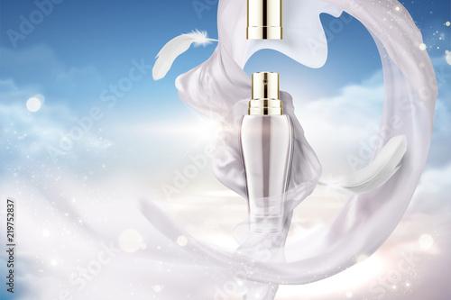Obraz na plátně Cosmetic spray ads