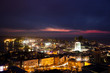 Panoramic view of Vladivostok from above. Vladivostok - the capital of Primorsky Krai, the eastern Russian Far-West