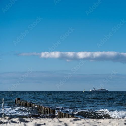 Keuken foto achterwand Noordzee Ostsee Fähre