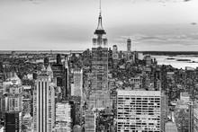 Night View Of Manhattan From T...