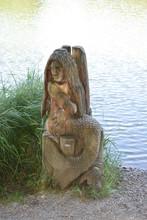 Wassernixe Am Holzmaar
