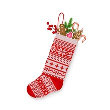 Christmas Stocking With Sweets...